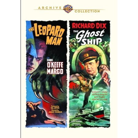 The Leopard Man / The Ghost Ship (DVD)