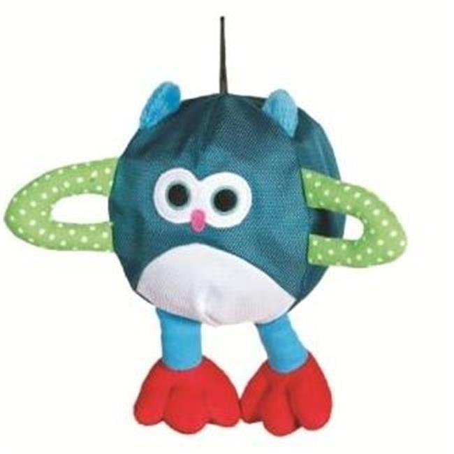 Caitec 61004 Bubble Ball Inflatable Dog Toy - Owl