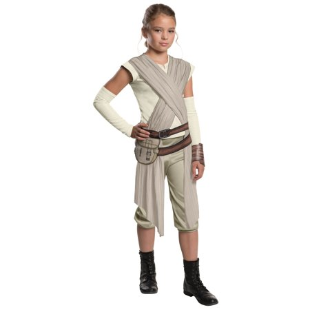 Child Deluxe Star Wars The Force Awakens Rey Costume 620090 - Large 12-14 - Princess Leia And Han Solo Costumes