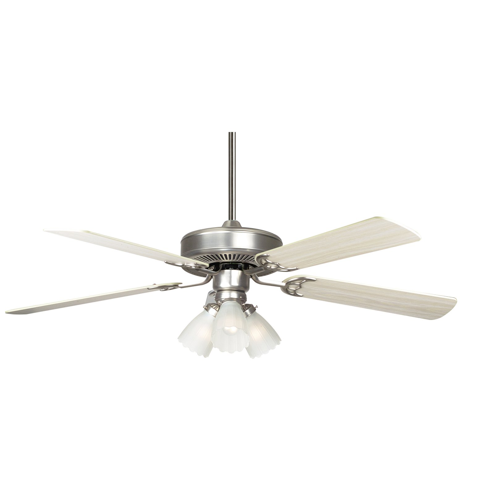 """Concord 52HA5E Home Air 52"""" 5 Blade Indoor Ceiling Fan with Light Kit, Downrod, by Supplier Generic"""