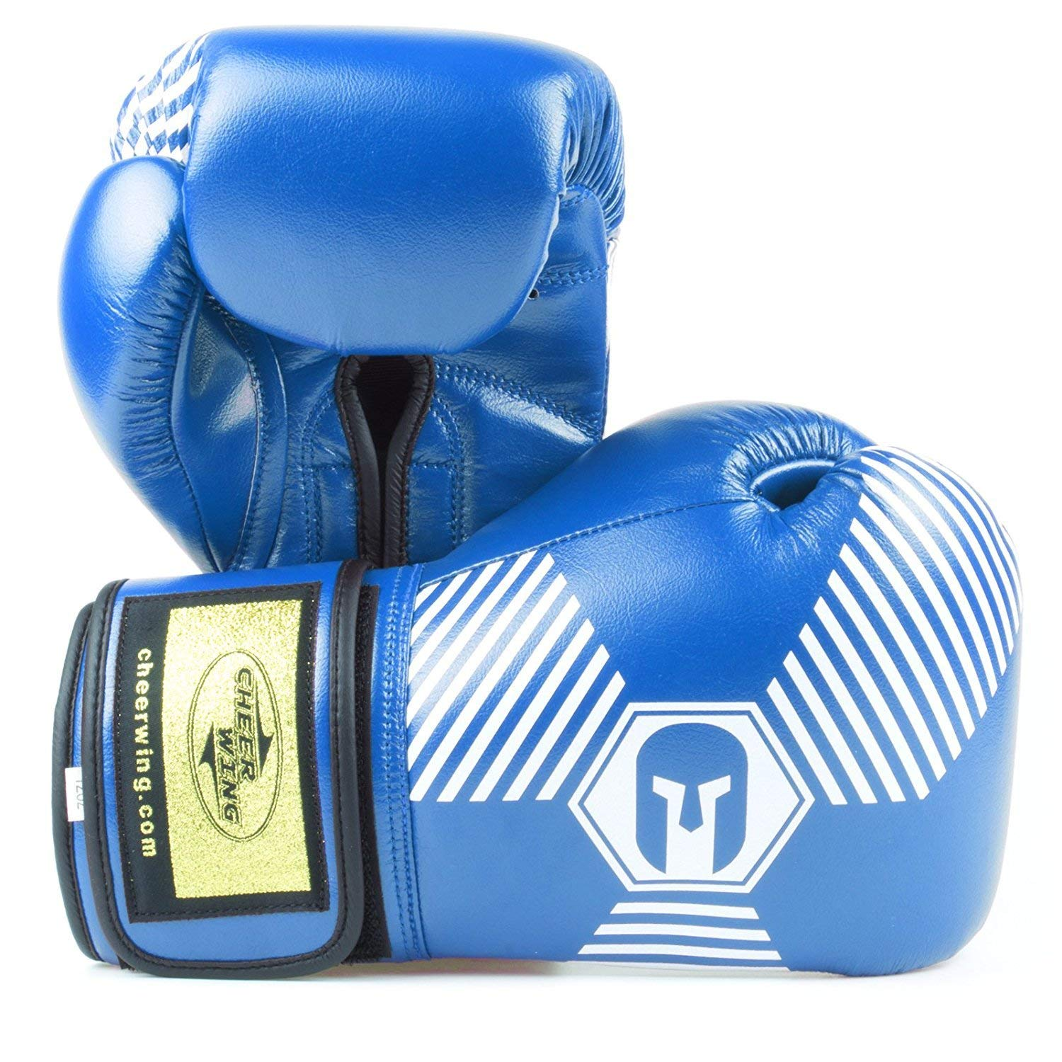 Cheerwing Boxing Gloves Professional Muay Thai Kickboxing Sparring Training Gloves Punching Bag Mitts