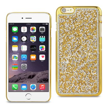 REIKO IPHONE 6 PLUS/ 6S PLUS JEWELRY BLING RHINESTONE CASE IN GOLD