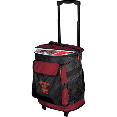 Logo Brands Collegiate Rolling Cooler - Southern California
