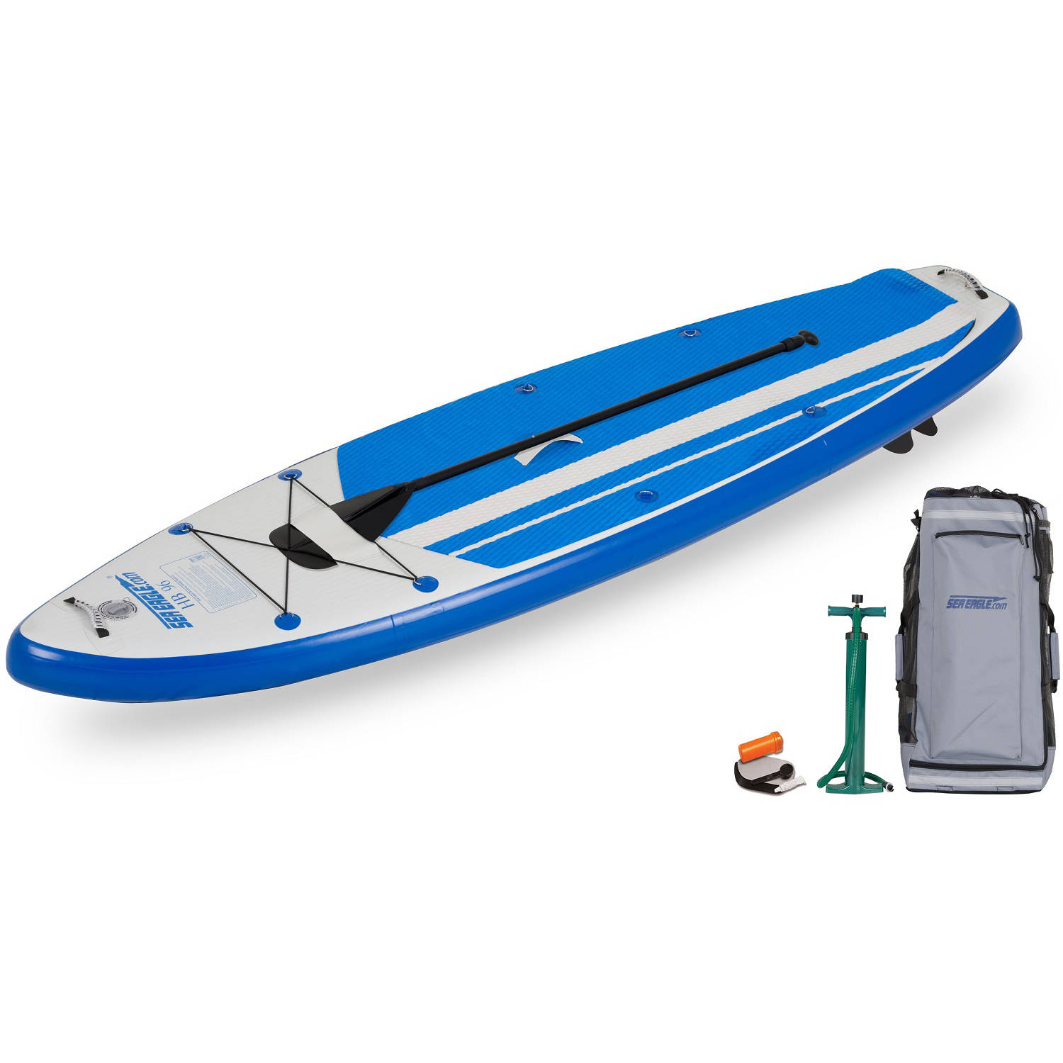 Click here to buy Sea Eagle HybridBoard 96 Startup Pkg Stand Up Paddle Board by Sea Eagle.