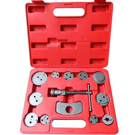 Zimtown 13 pc Disc Brake Caliper Wind Back Tool Universal Kit Piston Pad Car Truck