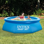 intex 8 x 30 easy set swimming pool 330 gph gfci filter pump - Intex Pools