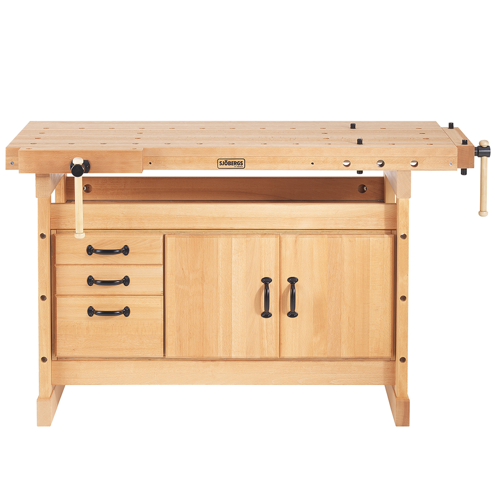 Sjobergs SJO-66902K Woodworking Duo Workbench and Cabinet Combo by SJOBERGS