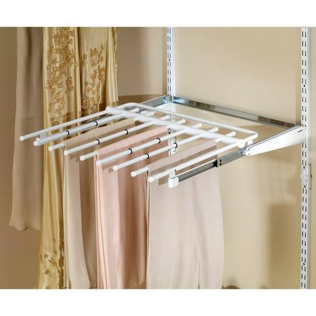 Rubbermaid Configurations Closet Sliding Pants Rack ()