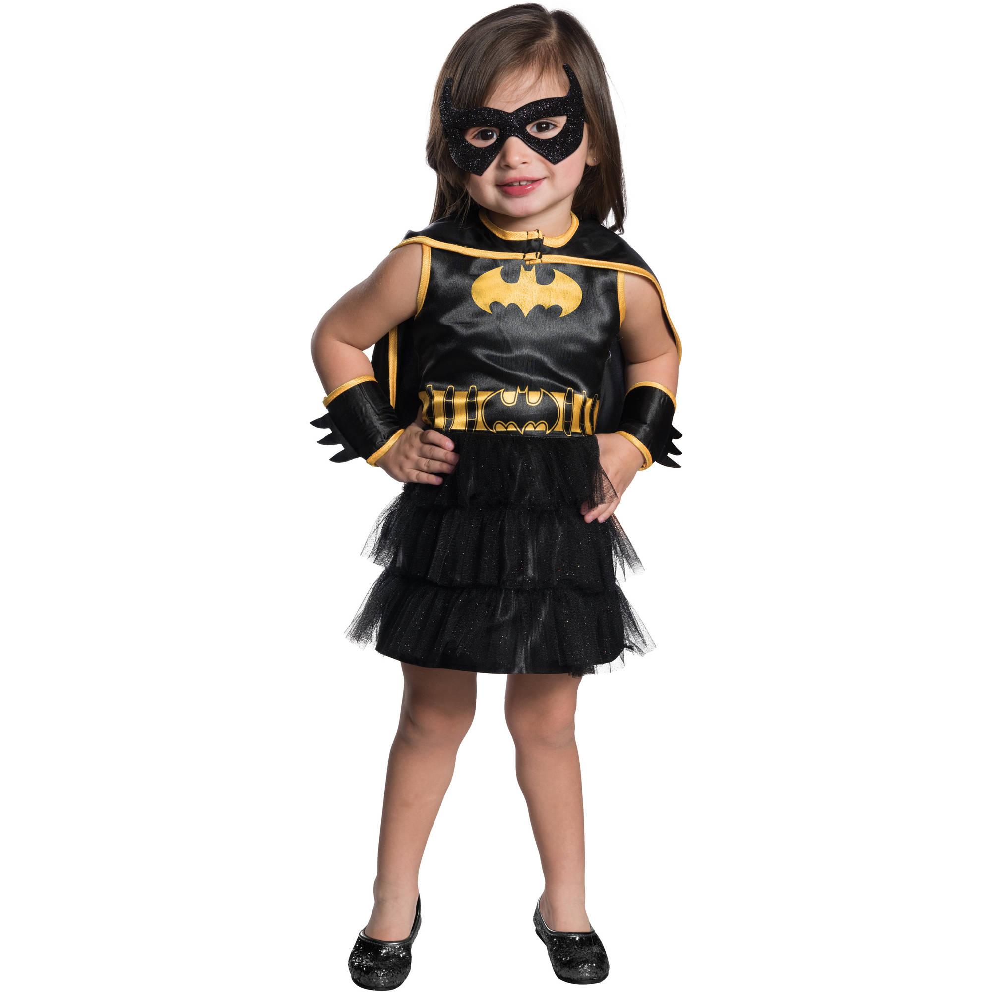 Batgirl Black and Gold Toddler's Tutu, 3T-4T