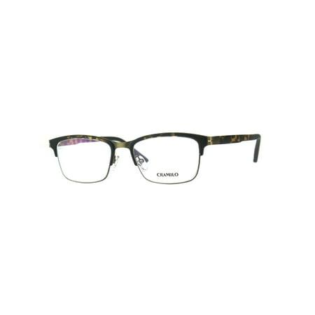Optical Quality Metal Half Rim Narrow Rectangular Eyeglasses Frame Tortoise (Womens Metal Eyeglass Frames)