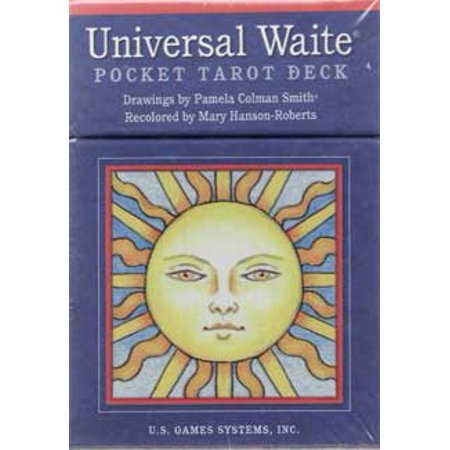 Fortune Telling Tarot Cards Universal Waite Pocket tarot deck by Smith & Hanson-Roberts