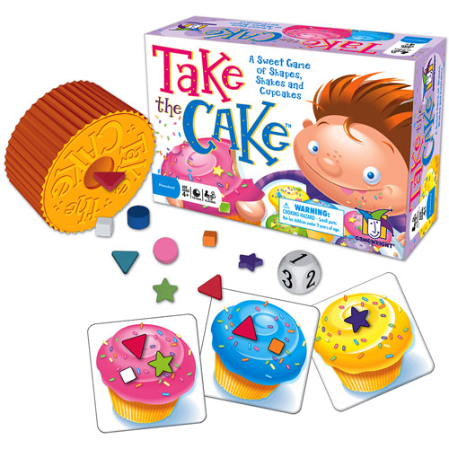 Games - Ceaco Gamewright - Take the Cake Kids New Toys 5518