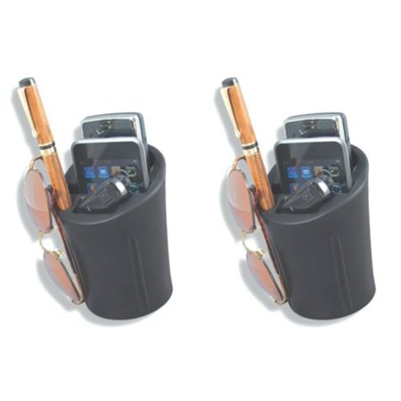 1072 CommuteMate Cell-Cup Cell Phone Holder (Pack of 2)Hands free convenience By Heininger A Cell-Cup is a must for commuters with cell phones. The Cell-Cup easily fits into the cup holder providing a secure location for your cell phone, note pad and pens or pencils. All of this in one handy location. It now holds popular phones such as iPhone, Blackberry and other large smart phones. Also holds your MP3 or iPod.