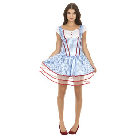 Wizard of Oz Sexy Dorothy Corset and Tutu Costume - Tutu And Corset Costumes