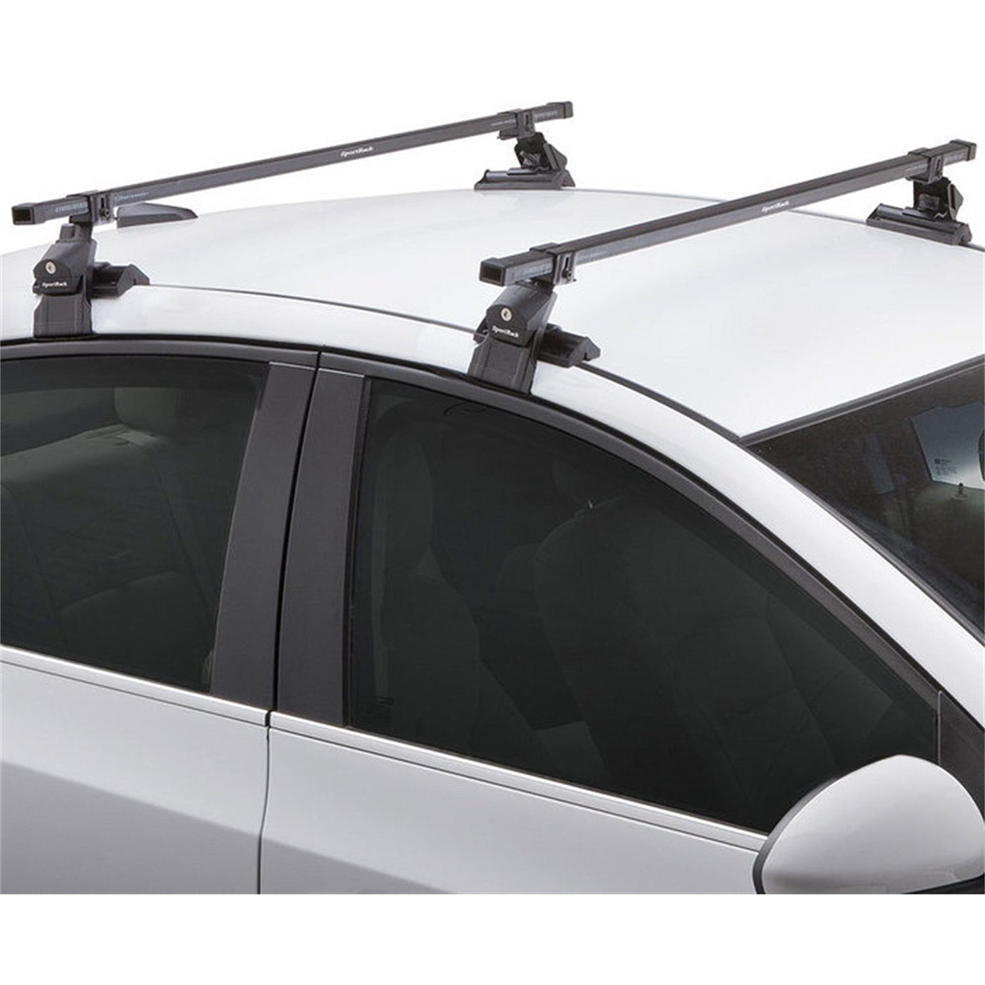SportRack SR1002 Square Crossbar Bare Roof Rack System, 50.5 Inches, Black    Walmart.com