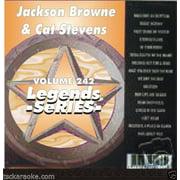 Jackson Browne CAT STEVENS Karaoke CD CDG