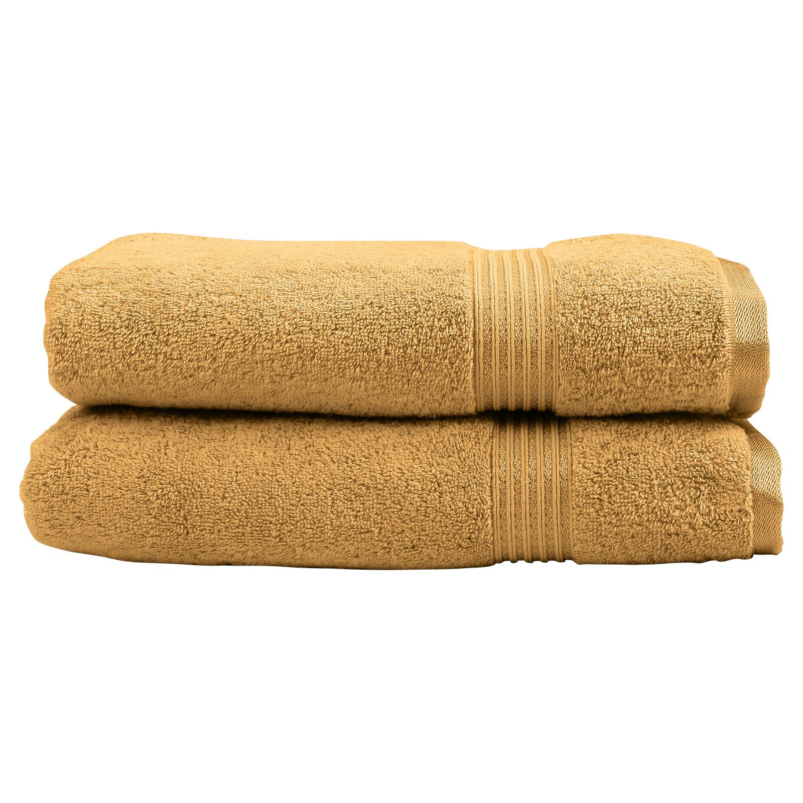 Superior 600GSM Egyptian Quality Cotton 2-Piece Bath Sheet Towel Set