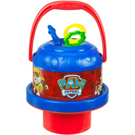 Spill Proof Bubbles (Little Kids No-Spill Bubble Bucket, Paw)