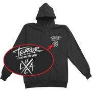 Terror Men's Hard Lessons Hooded Sweatshirt Small Black