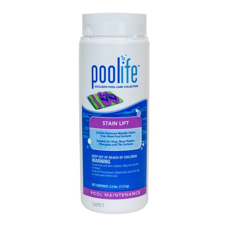 Stain Lift (2.25 lb), Quickly remove stains caused by copper, iron, manganese, cobalt and silver. By POOLIFE from (Best Way To Remove Brown Stains From Teeth)