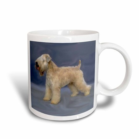 3dRose Soft Coated Wheaten Terrier, Ceramic Mug,