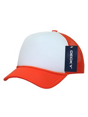 cced216887f3a Product Image Decky 7010 Kids Foam Trucker Cap-Orange White