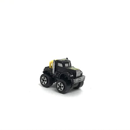 Micro Machines Miniature Vehicle Black Semi Truck ()