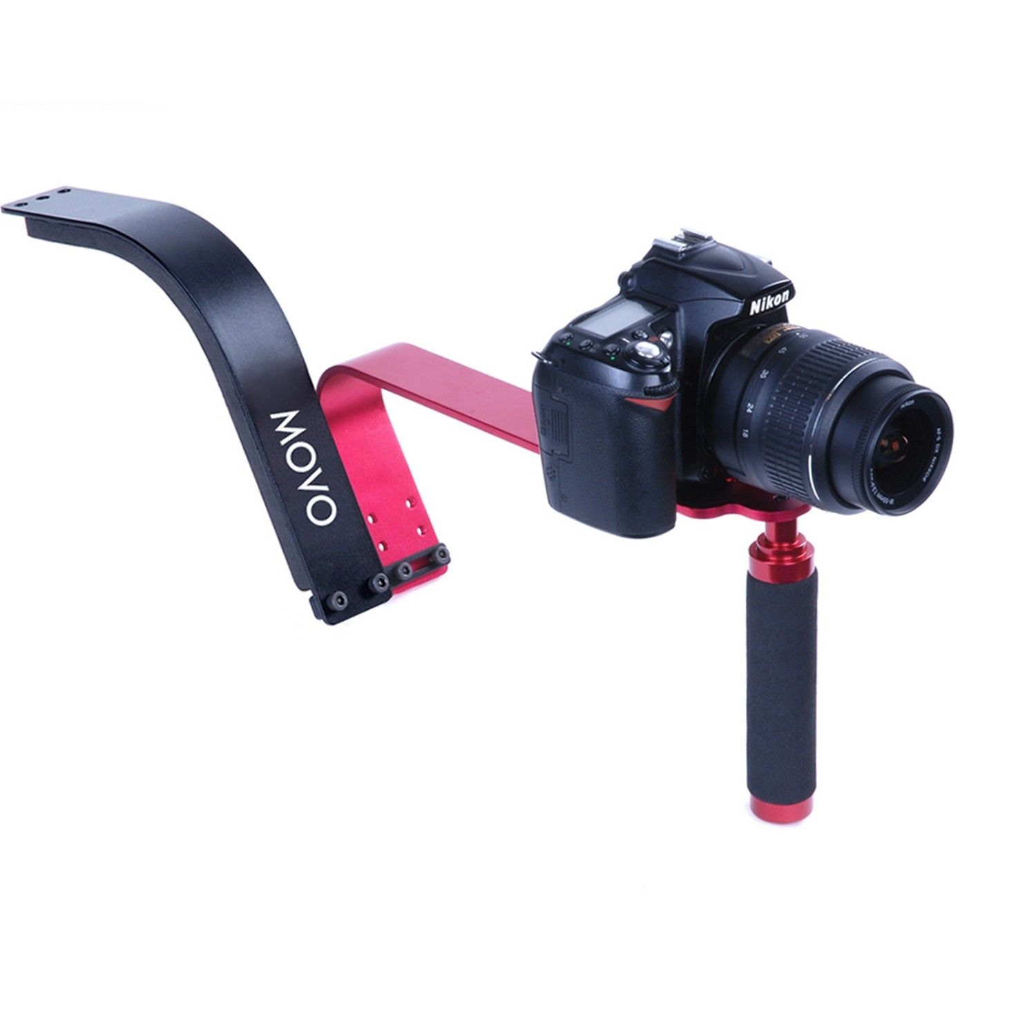 Movo Photo SG100 Video Shoulder Support Rig for DSLR Cameras and Camcorders
