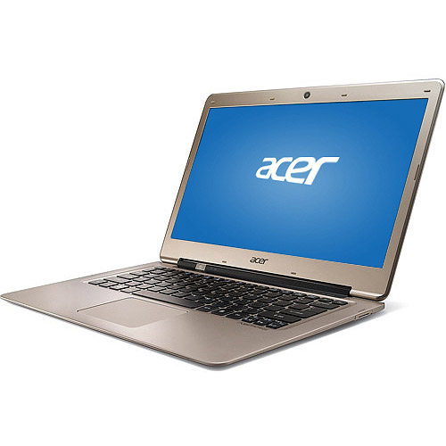 """Acer Champagne 13.3"""" Aspire Ultrabook S3-391-6616 Laptop PC with Intel Core i3-2377M Processor and Windows 7 Home Premium"""