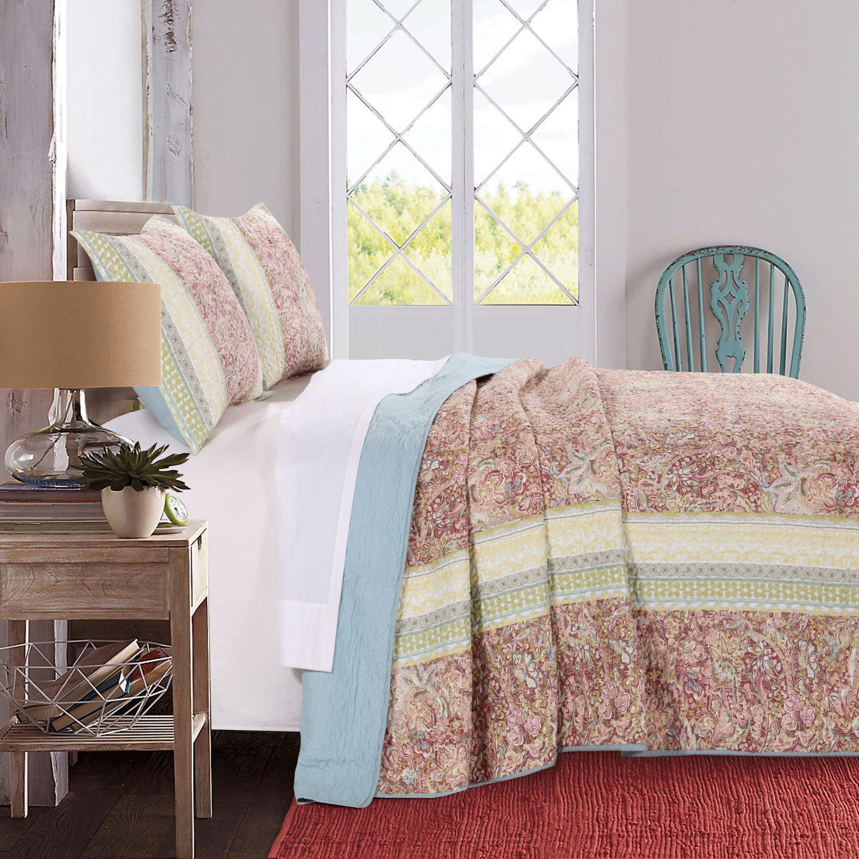Global Trends Portsmouth Pastel Bedspread Set