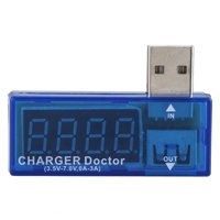 Mini USB LED Current Voltage Charging Battery Detector Tester Voltmeter Ammeter for Phones Power