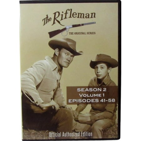 The Rifleman: Season 2 Volume 1 (Episodes 41 - 58) (DVD) - Jessie Tv Show Halloween Episode