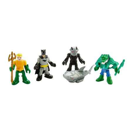 Imaginext DC Super Friends Heroes and Villians Figure Pack - Superheros And Villians