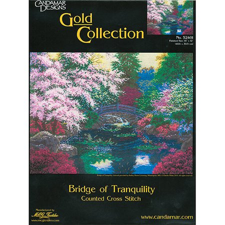 Bridge Of Tranquility Counted Cross Stitch Kit, 16