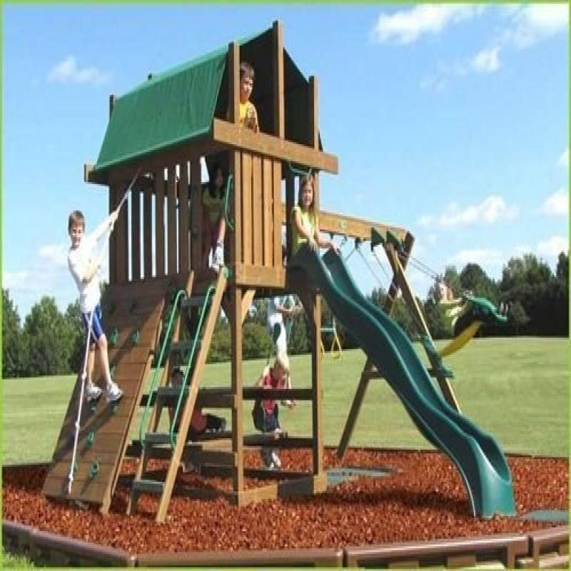 Creative Playthings Lexington Package 1 Swing Set Walmart Com