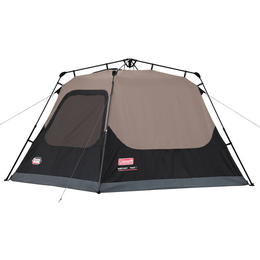 Coleman Outdoor Family C&ing 4-Person Instant Tent 8 x 7 Feet w/ WeatherTec  sc 1 st  eBay & Coleman Outdoor Family Camping 4-Person Instant Tent 8 x 7 Feet w ...