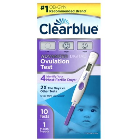 2 Pack - Clearblue Advanced Digital Ovulation Test, 10 (Clear Blue Digital Ovulation Test)