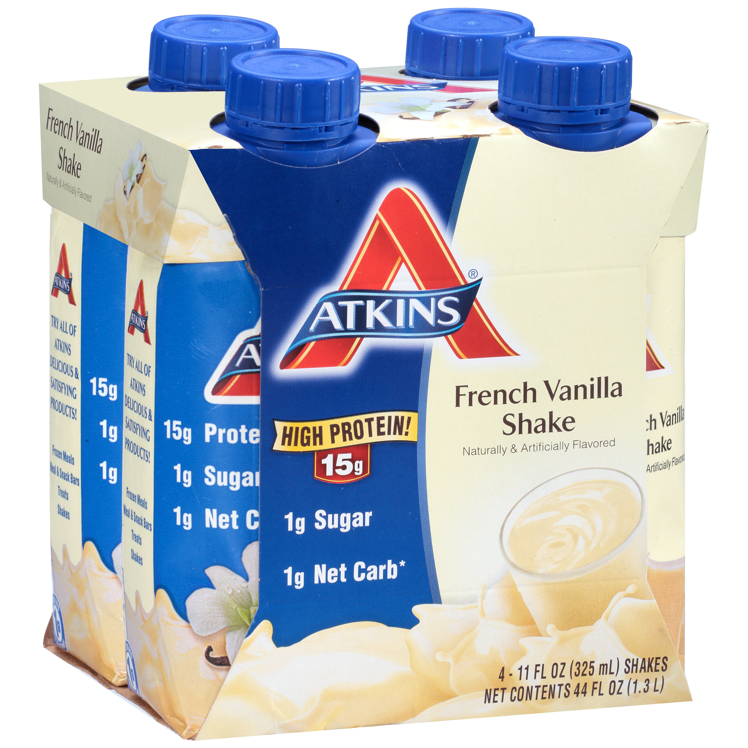 Atkins Ready To Drink Shakes French Vanilla 4-pack