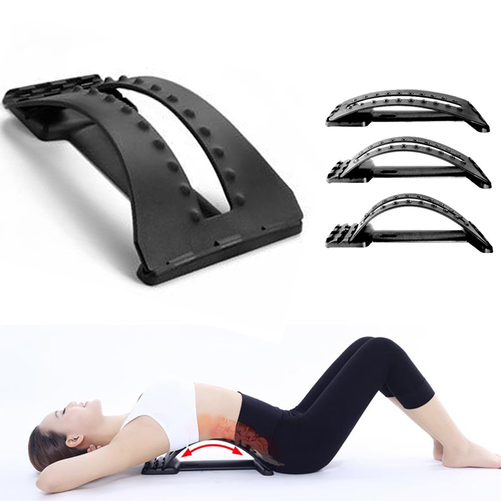 Orthopedic Back Stretcher Arched Support For Tension Relief & Aligns Spine