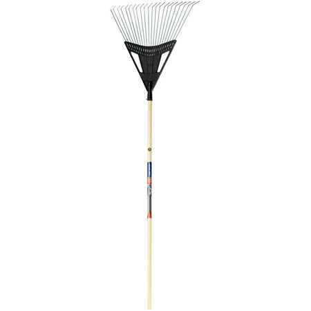 Ames 1932800 20   True American Poly Steel Leaf Rake