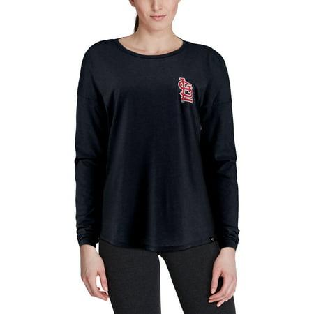 6d0c7b73a St. Louis Cardinals  47 Women s Courtside Long Sleeve T-Shirt - Navy -  Walmart.com