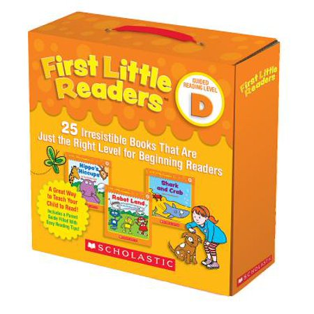 First Little Readers Parent Pack: Guided Reading Level D: 25 Irresistible Books That Are Just the Right Level for Beginning Readers [With 25 Books] (Hardcover)