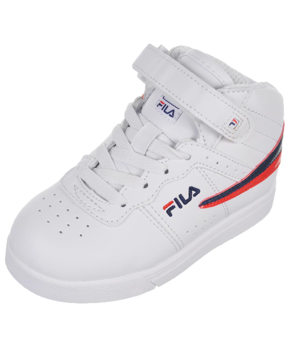 "Fila Boys' ""Vulc 13 High"" Hi-Top Sneakers (Toddler Sizes 5 10) by Fila"