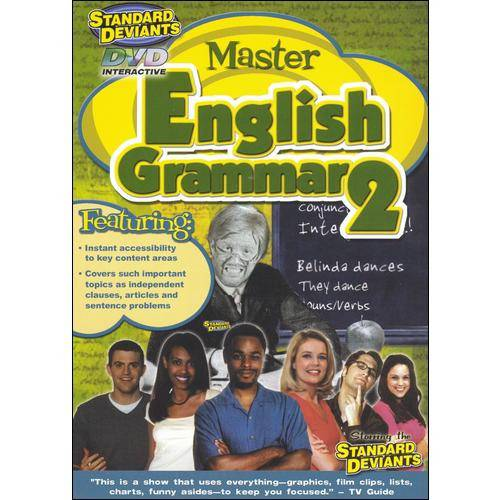 The Standard Deviants: Master English Grammar 2 (Full Frame)