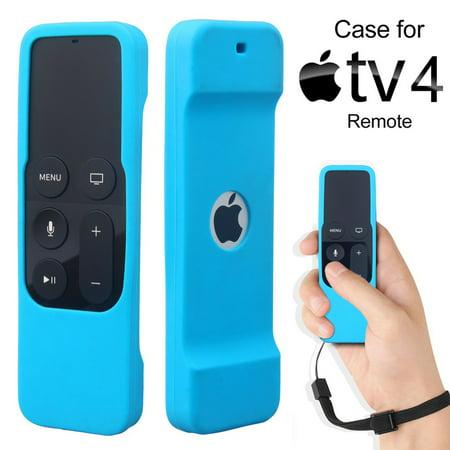 Soft Silicone Slim Case For Apple Tv  4Th Generation  Siri Remote Control   Black White Blue