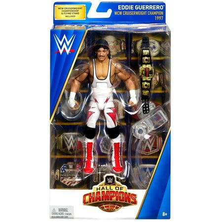 WWE Wrestling Hall of Champions Eddie Guerrero Action - Womens Wwe Champion