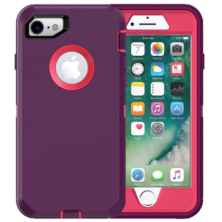 iphone 8 cases purple shockproof
