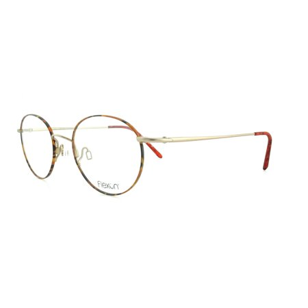a1cd2fc16d64 FLEXON Eyeglasses 623 243 Tortoise Natural 48MM - Walmart.com