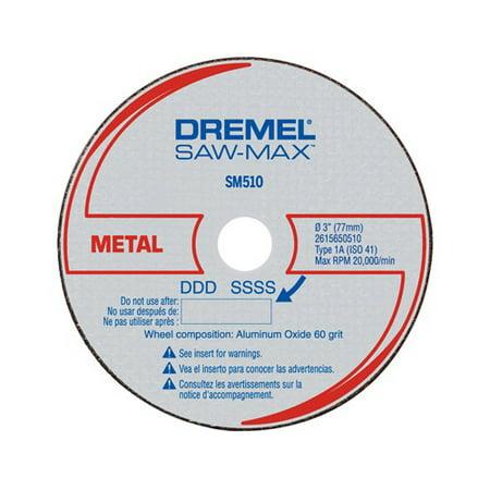 Dremel SM510 3 inch Metal Cut-Off Wheel for Metal Cutting