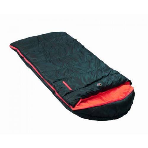Ledge Outdoors Springz 25-Degree Kids Sleeping Bag, Red
